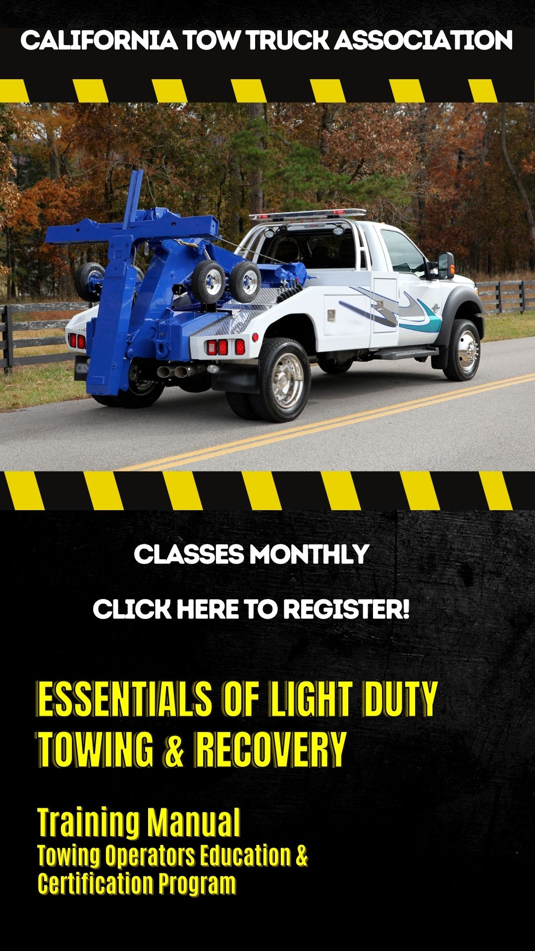 Click to register for Light Duty Certification